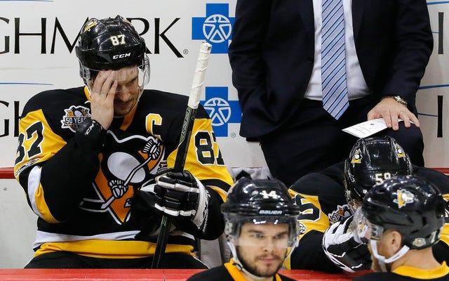 Tôi không chắc Bộ não của Sidney Crosby ổn