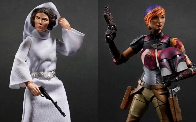 ハスブロの新しいスターウォーズのおもちゃは、いくつかの素晴らしい女性のヒーローを備えています