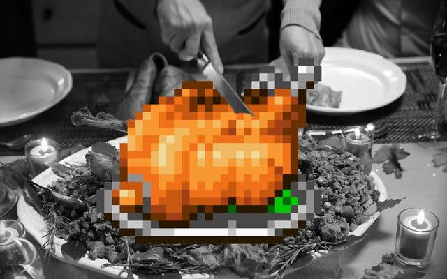 私のビデオゲームファミリーが感謝祭にもたらしているもの