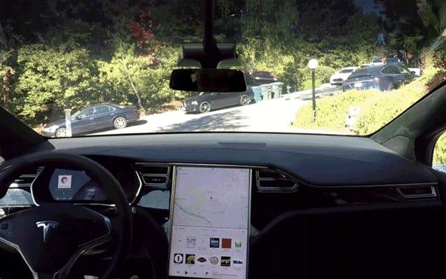 Il video di prova di Tesla per la sua tecnologia di guida autonoma è una stronzata di fantasia