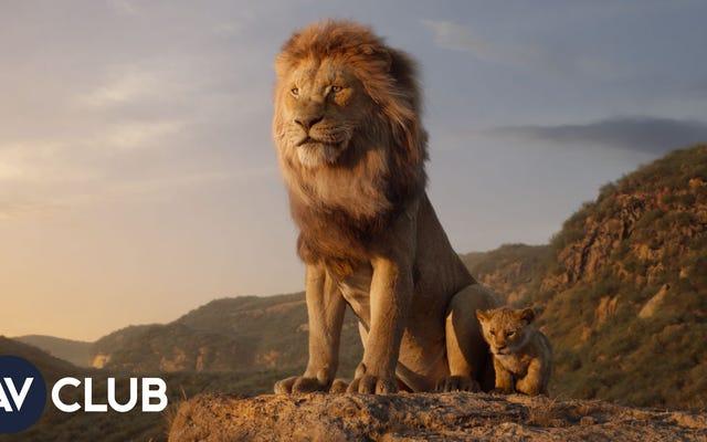 Bagaimana Disney menggunakan taman Kerajaan Satwa untuk menciptakan Lion King yang beraksi langsung?