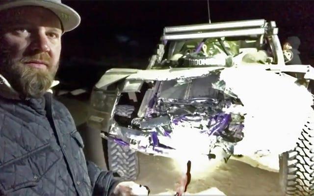 Toyota Off-Road Pro BJ Baldwin sobre Baja Crash: 'Lo peor que he golpeado hasta la fecha'