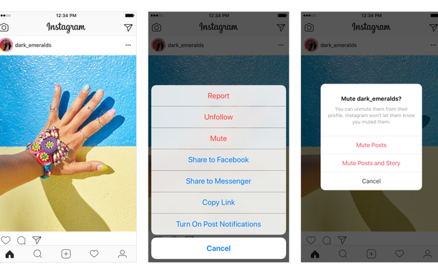 Instagram Sekarang Memungkinkan Anda Membungkam Postingan, Hadiah untuk Frenemies Di Mana Saja