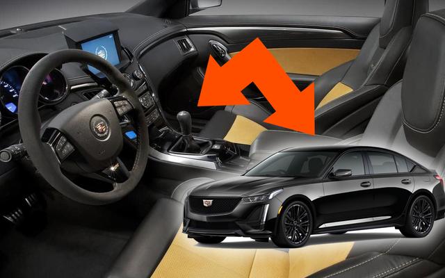 El Cadillac CT5-V V8 recibirá un manual: Fotos espía
