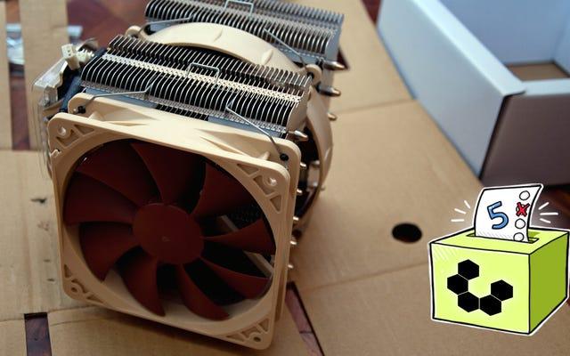 Cinco mejores refrigeradores de CPU
