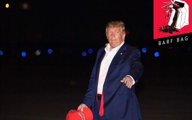 Herman Cain prêt à mourir pour le Big Boy Rally de Donald Trump