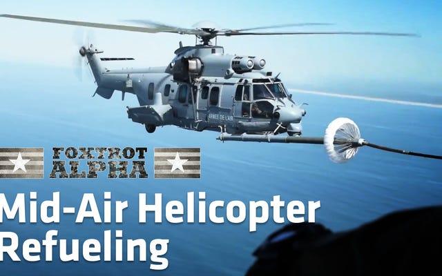 Le ravitaillement en hélicoptère air-air me donne toujours les Willies