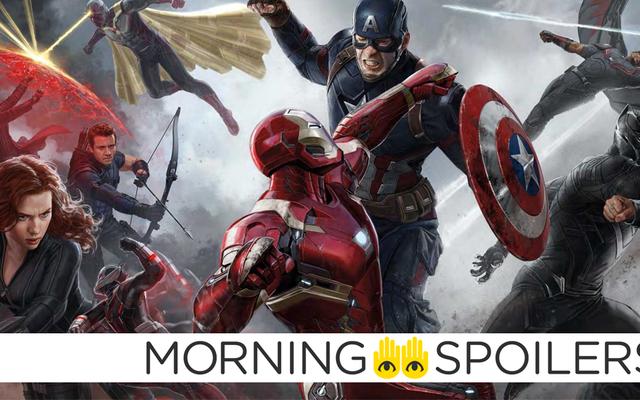 Avengers: Infinity War Mengatur Foto-Foto Menggoda Romantis Di Antara Pahlawan Terkuat Bumi