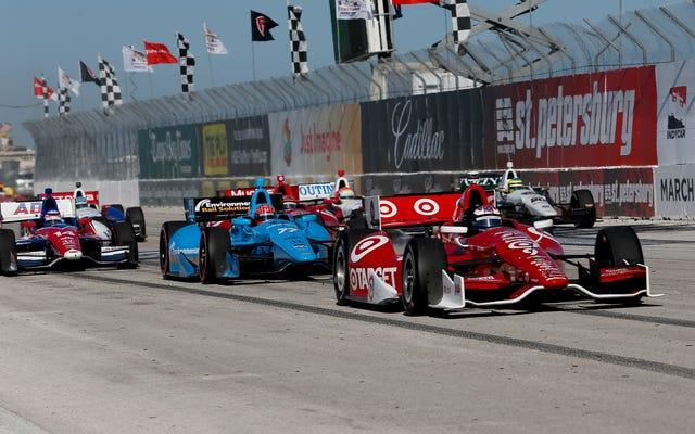 IndyCar reporte le Grand Prix de Saint-Pétersbourg à avril