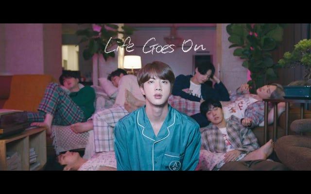 La nueva canción de BTS me está haciendo llorar, lo siento