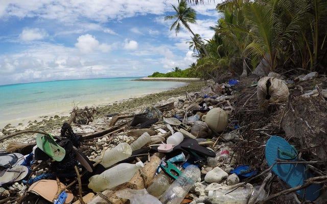 推定4億1400万個のプラスチックがオーストラリアの最高のビーチに積み上げられました