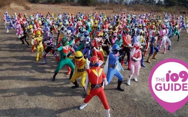 Panduan io9 untuk Super Sentai