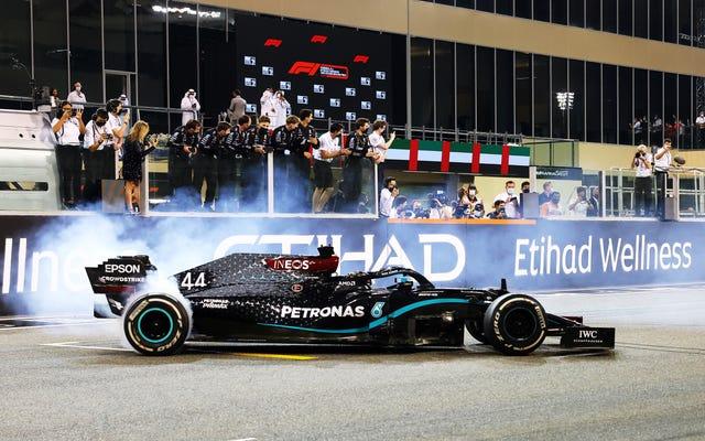 Mi esposo cree que resolvió el problema de Mercedes dominando la F1