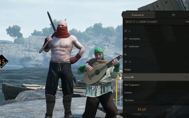 Mordhauプレイヤーは、マップからグリッチしてお互いをトロールします