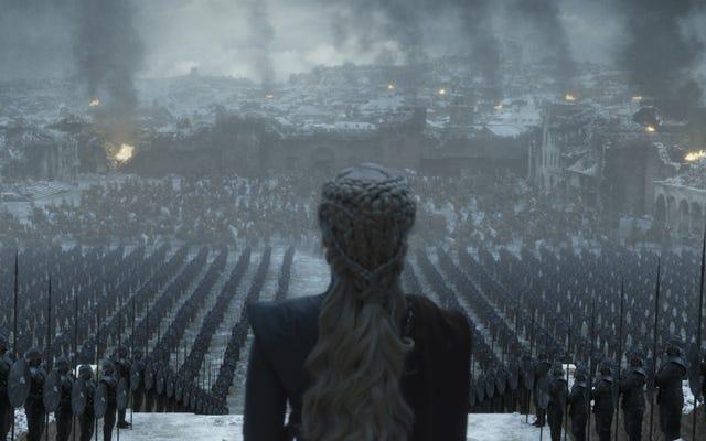 Le dernier Game Of Thrones apporte une méditation pensive mais simple sur les histoires (débutants)