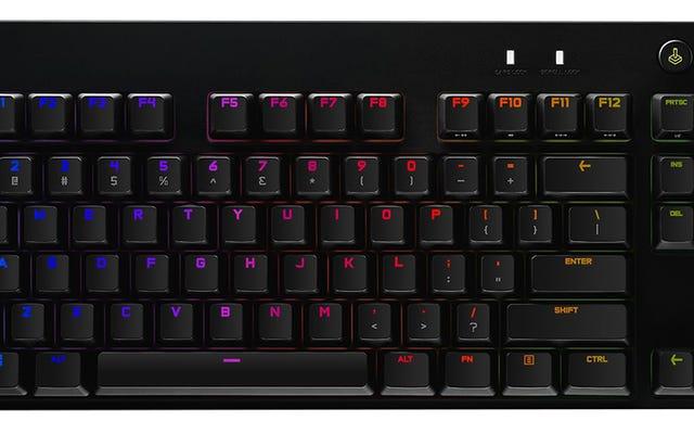 Keyboard mekanis baru Logitech memungkinkan Anda melakukan hot-swap setiap tombol