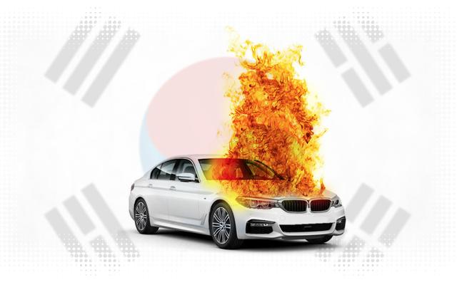 Ninguém sabe ao certo por que tantos BMWs coreanos estão pegando fogo