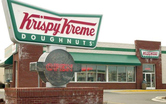 Firma macierzysta Krispy Kreme była własnością nazistów i nie możemy mieć fajnych rzeczy