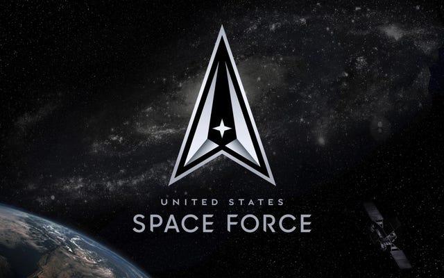 Space Force svela un nuovo logo, promette di essere `` sempre al di sopra ''