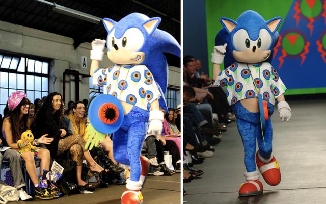 L'influence surprenante de Sonic The Hedgehog sur la mode