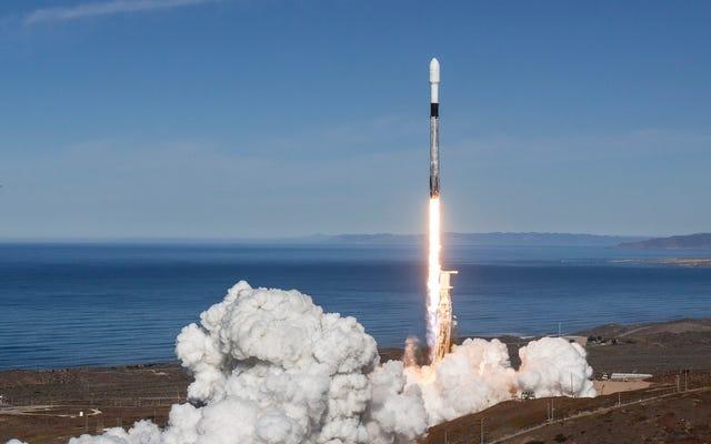 SpaceX a battu 4 records du monde lors de son dernier lancement d'un Falcon 9 dans l'espace