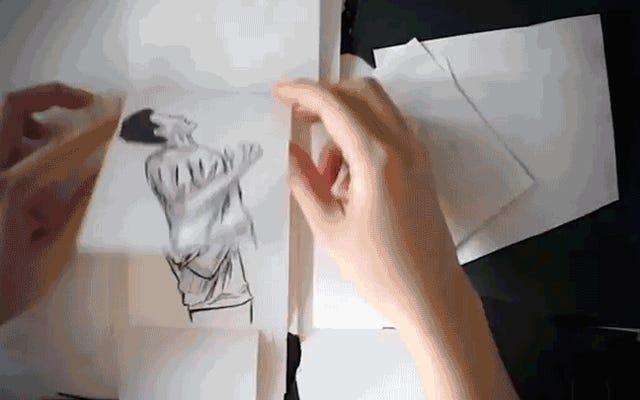 Este libro animado de Alien: Covenant dibujado a mano es mejor que la película real
