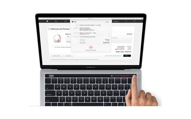 Новый MacBook Pro просочился в последнюю версию MacOS