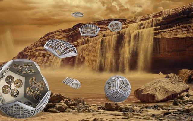 Un concept cool de la NASA envisage un robot métamorphe pour explorer le Titan lunaire de Saturne