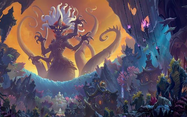 La actualización de Rise of Azshara de World Of Warcraft está disponible y hay mucho por hacer