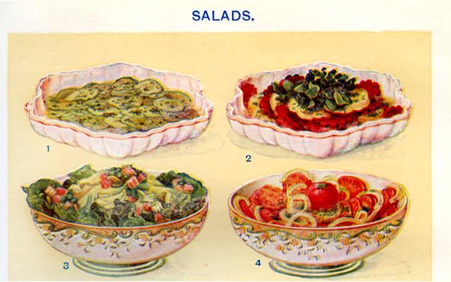 マヨネーズはこれらの夏のサラダの神性の隣にあります