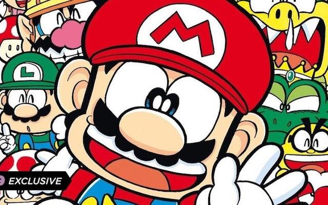 Английский перевод Super Mario Manga Mania отправит вас в путешествие по диком миру