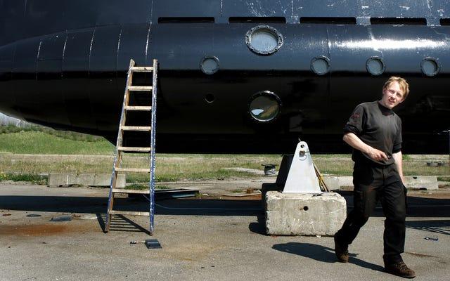 潜水艦の設計者によって殺害されたとされる行方不明のジャーナリストとして特定された頭のない体