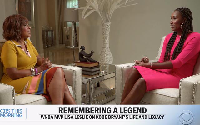 Gayle King a interrogé Lisa Leslie sur l'affaire de viol de Kobe Bryant. La réponse a révélé combien il nous fallait aller plus loin