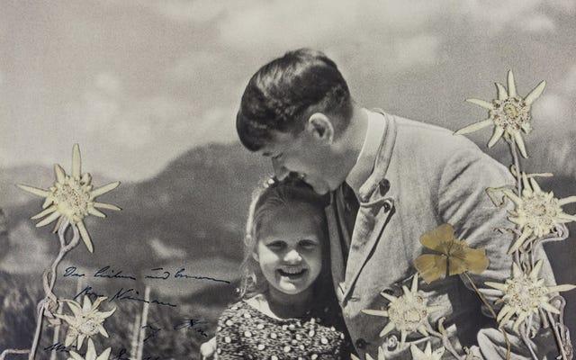 Bức ảnh Hitler ôm một cô gái gốc Do Thái vừa được bán đấu giá 11.000 USD. Đây là câu chuyện của anh ấy