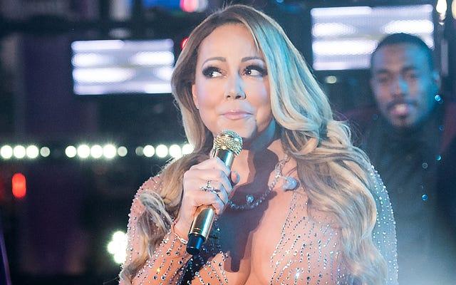 Największe błędy Mariah Carey wydarzyły się po sylwestra