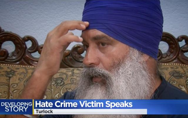 ヘイトクライム容疑で襲われたシーク教徒の男は、ターバンが彼を救ったと言います