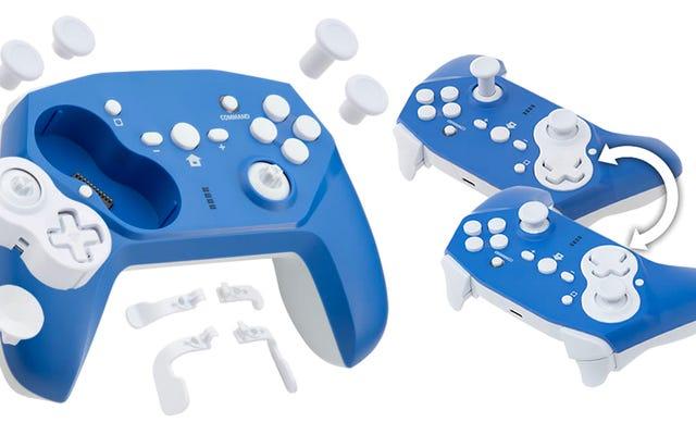 Não é possível decidir sobre um layout de controlador? Este Gamepad permite que você vire o D-Pad e o Joystick tão frequentemente quanto você quiser