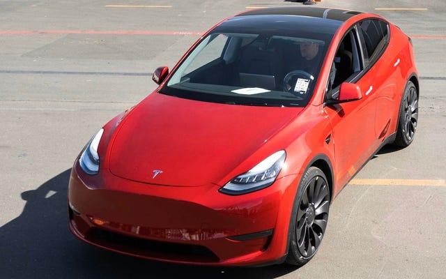 テスラは100万台目の車を製造しました