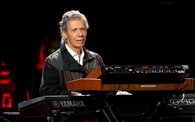 Il compositore e pianista RIP Chick Corea