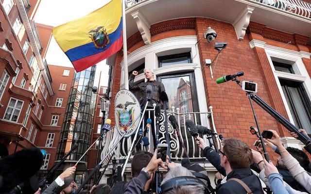 Que fait Julian Assange?