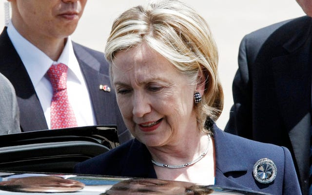 ホワイトハウスの庭師は、最後の車のヒラリー・クリントンが運転したのは'86オールズカトラスシエラだったと言います
