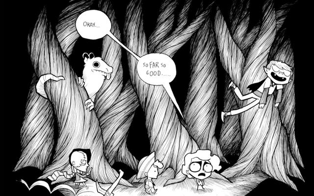 不気味で面白い、最後のハロウィーンは完璧なハロウィーンの漫画です