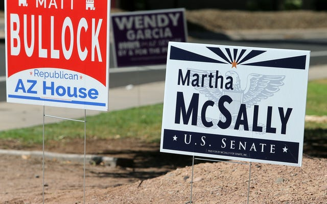 アリゾナ州の共和党員は選挙で吸うことを認めていることを失うことをとても恐れています