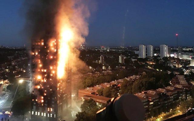 金持ちの隣人がロンドンの致命的な塔の火をどのように考慮したか[更新]