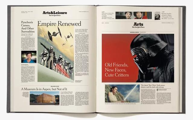 このコーヒーテーブルブックは、ニューヨークタイムズの報道によるスターウォーズの全歴史を語っています