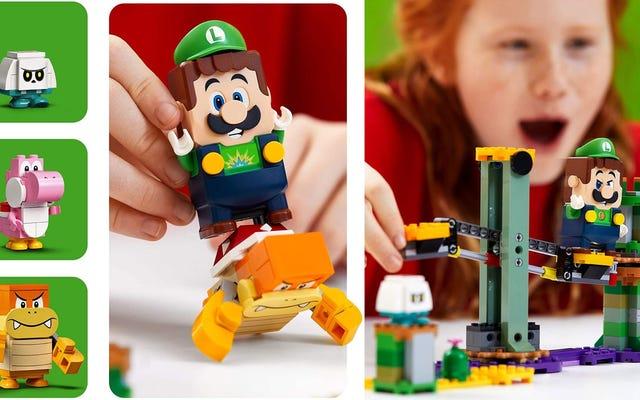 लेगो मारियो की तरह लग रहा है उसका लेगो लुइगी