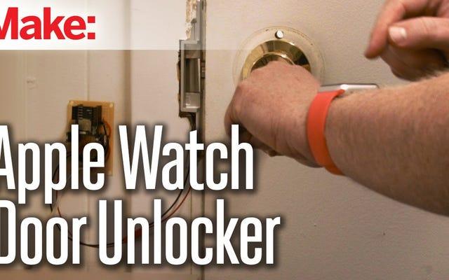 Desbloquea una puerta con un RFduino y un Apple Watch
