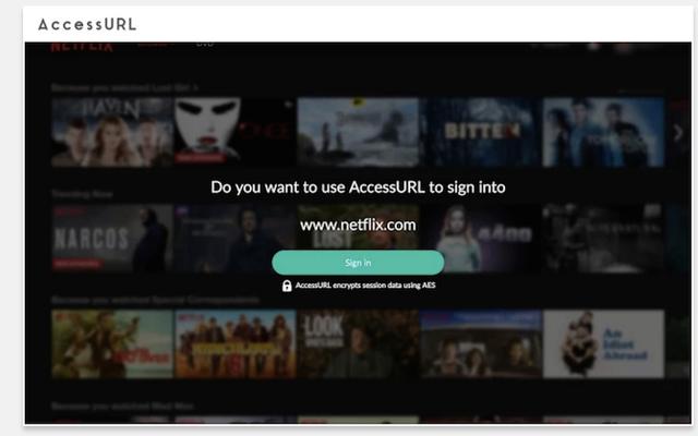 AccessURL umożliwia udostępnianie kont internetowych i zapewnia bezpieczeństwo hasła