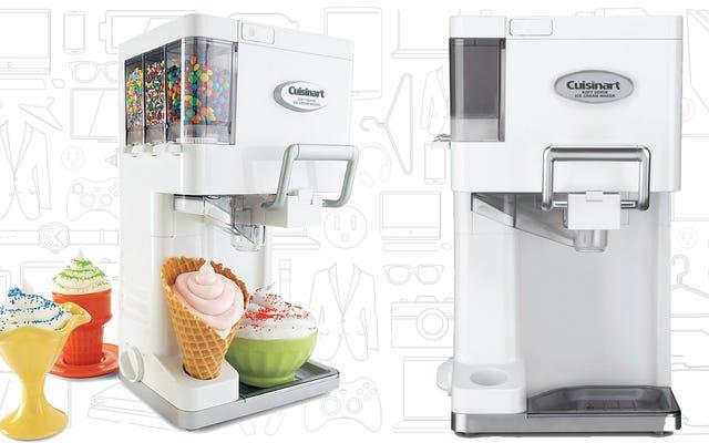 La machine Soft Serve de Cuisinart fait réellement un service doux
