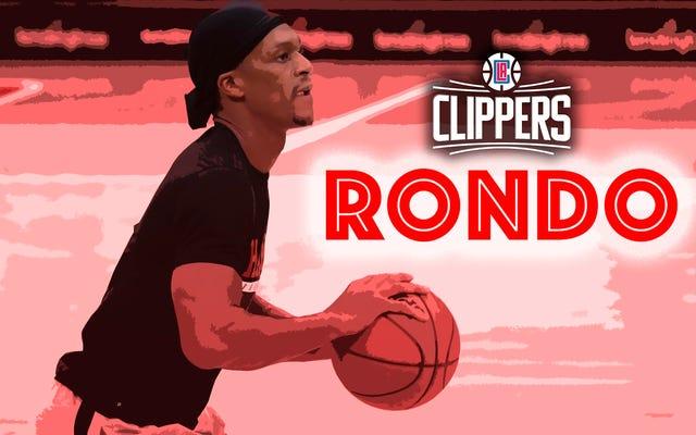 रजोन रोंडो को मिलने वाली क्लिपर्स वह चाल है जो पश्चिम को जीत सकती है ... और बहुत कुछ